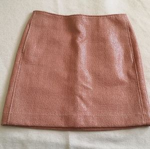 *Free with Purchase* Pink mini skirt